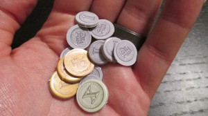 Tiny coins for tiny buildings