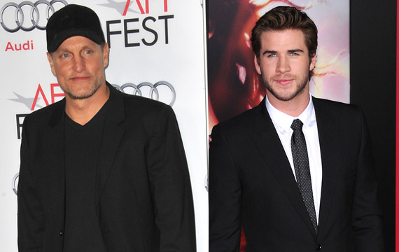 'Hunger Games' Stars Liam Hemsworth and Woody Harrelson Team Up Again for 'By Way of Helena'