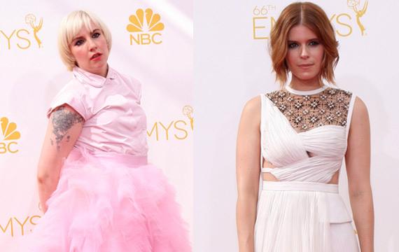 Lena Dunham and Kate Mara Suffer Embarrassing Moment at Venice Film Festival