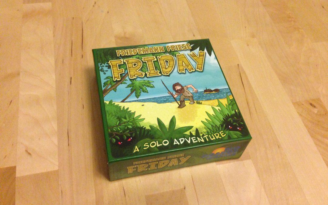 Friday Review – Crusoe Dumb