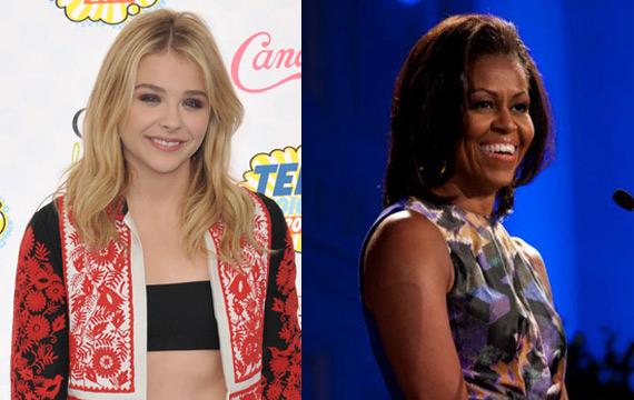 Chloe-Moretz-Michelle-Obama