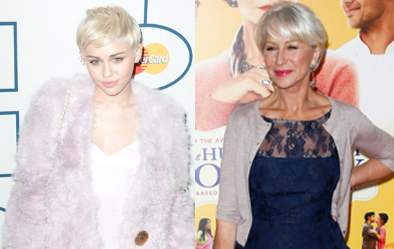 Miley-Cyrus-Helen-Mirren