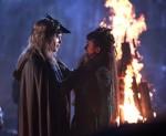 Pictured: (L-R) Joseph Morgan as Klaus and Nina Dobrev as Tatia Photo Credit: Annette Brown/ The CW