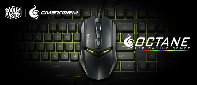 CM Storm Octane Combo Mouse and Keyboard – A Nice Entry-Level Option