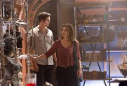 Pictured: (L-R)Daniel Sharman as Kaleb and Danielle Campbell as Davina Photo Credit: Bob Mahoney/ The CW
