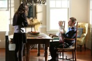 Pictured: (L-R) Phoebe Tonkin as Hayley and Joseph Morgan as Klaus Photo Credit: Annette Brown/The CW