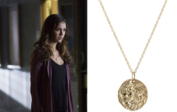 Elena's Coin Necklace on The Vampire Diaries