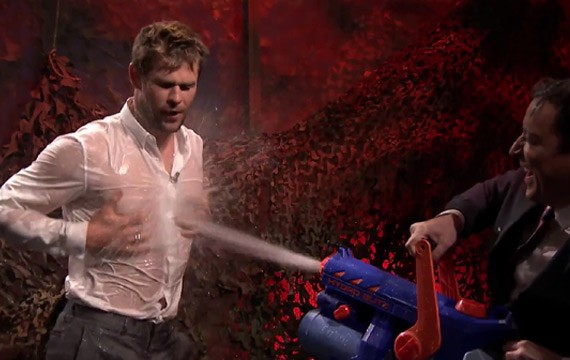 Chris Hemsworth Jimmy Fallon