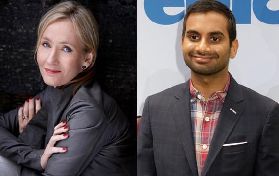 JK-Rowling-Aziz-Ansari