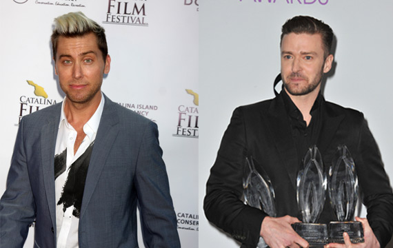 The gallery for --> Lance Bass And Justin Timberlake