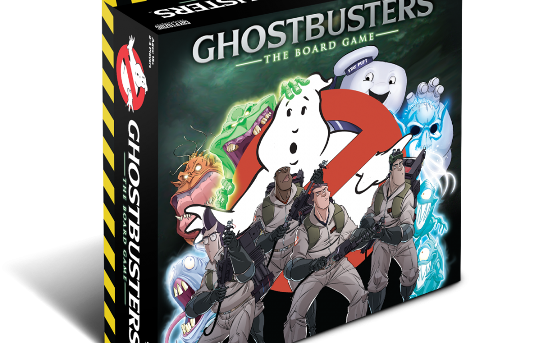 Ghostbusters: The Board Game – Sony and Cryptozoic Announce New Tabletop Game