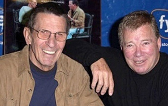Leonard-Nimoy-William-Shatner