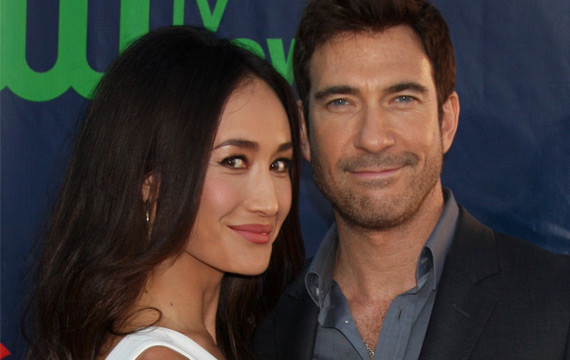 Report: Stalkers Dylan McDermott and Maggie Q Are Engaged