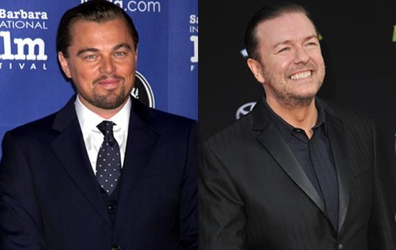 Leonardo-DiCaprio-Ricky-Gervais