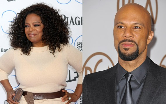 Oprah and Common