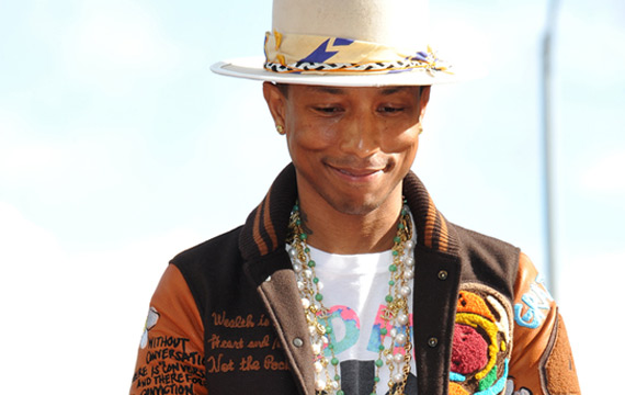 Pharrell Partnering with United Nations for International Day of Happiness