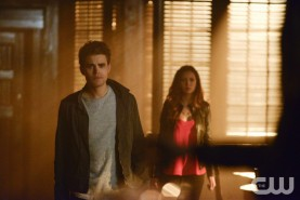 Pictured:(L-R) Paul Wesley as Stefan and Nina Dobrev as Elena Photo Credit: Guy D'Alema/ The CW