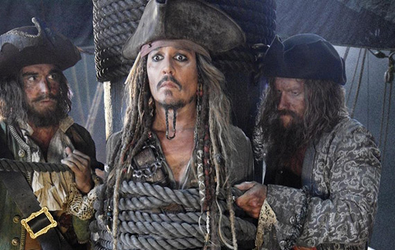 'Captain Jack Is Back' in First 'Pirates of the Caribbean 5 ' Still