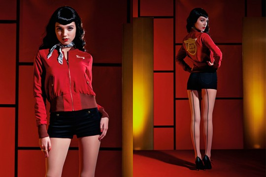 Stark Industries Bomber Jacket from the Marvel by Her Universe Fashion Collection