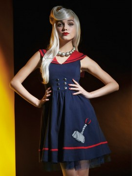 Thor Sailor Dress from the Marvel by Her Universe Fashion Collection