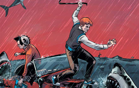 An 'Archie vs. Sharknado' Comic Is Headed Our Way