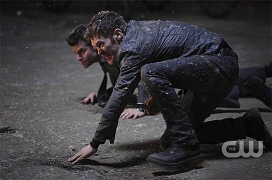 Pictured: Daniel Gilles as Elijah and Joseph Morgan as Klaus Photo Credit: Annette Brown/ The CW