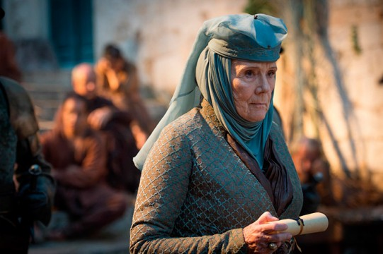 Pictured: Diana Rigg as Olenna Tyrell Photographer: Macall B. Polay/HBO