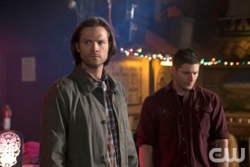 Pictured: Jared Padalecki as Sam and Jensen Ackles as Dean Photo Credit: Katie Yu/ The CW