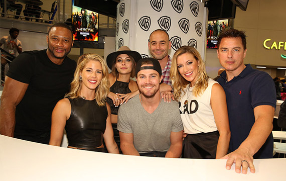 'Arrow' News and Highlights from Comic-Con 2015 (Photo Gallery)
