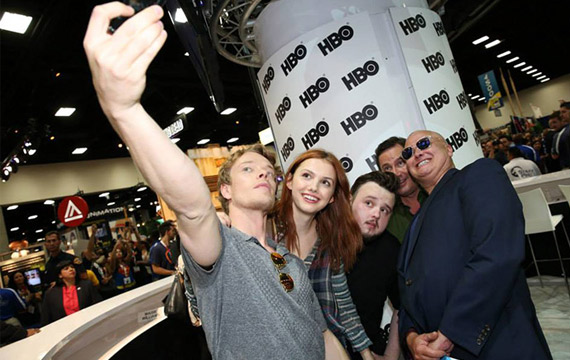 'Game of Thrones' Cast Signs Autographs and Meets Fans at Comic-Con 2015