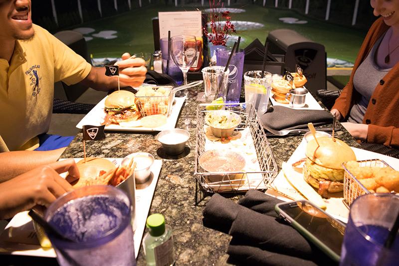 Topgolf Atlanta Food 2