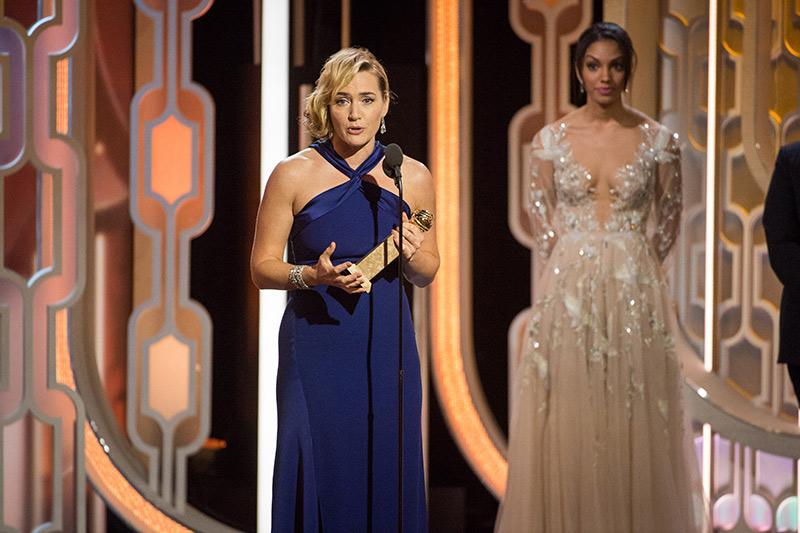 Kate Winslet 2016 Golden Globes