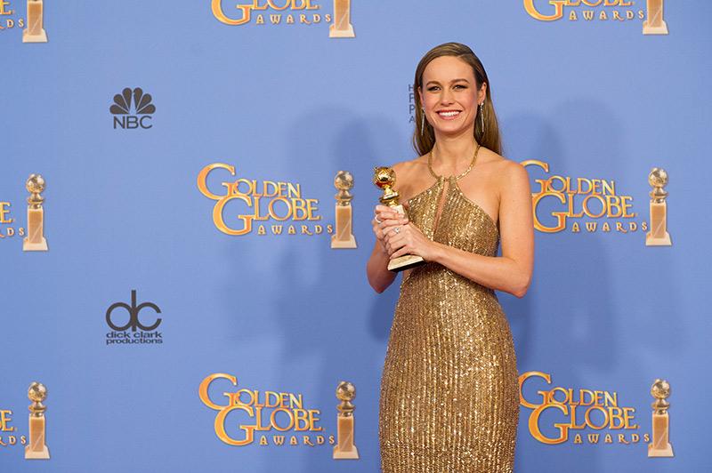 Brie Larson 2016 Golden Globe Dresses