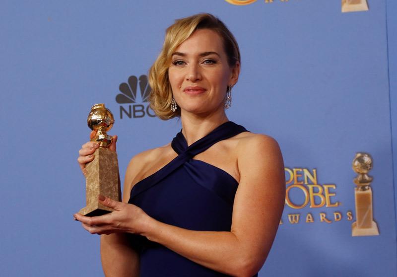 Get the Details on Kate Winslet's 2016 Golden Globes Look