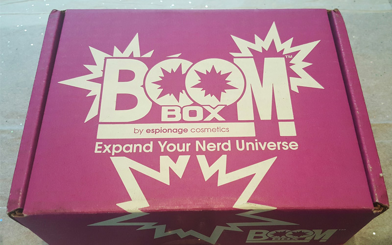 Boom!Box from Espionage Delivers Geek Beauty Bang for Your Buck