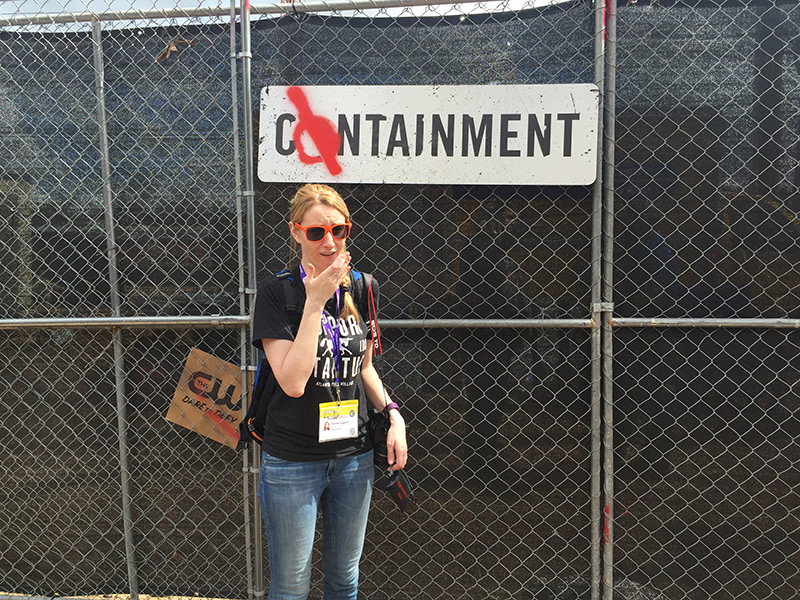 CW Containment SXSW Installation