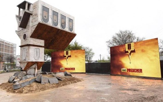 Preacher Installation at SXSW