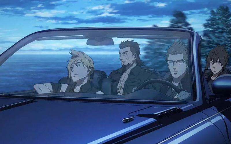 Final Fantasy Xv Brotherhood Episode 1 Review Magic Swords