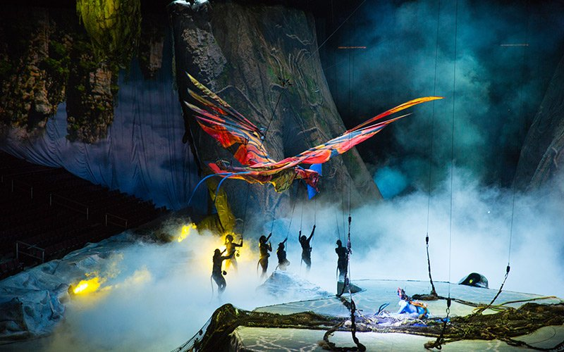 Cirque du Soleil Toruk Review: Not Your Traditional Cirque
