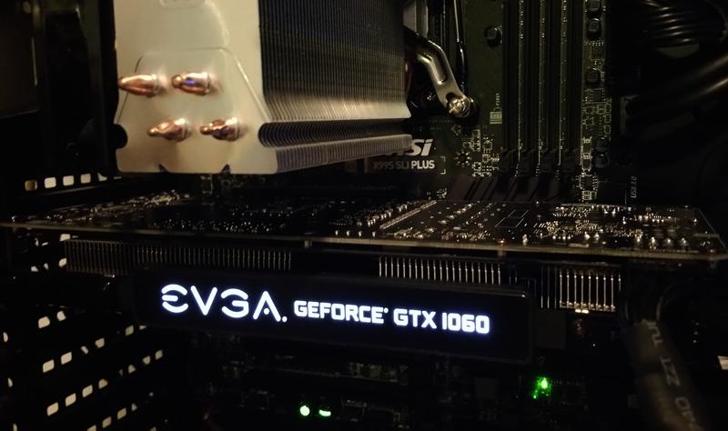EVGA GeForce GTX 1060 FTW: Let's Game