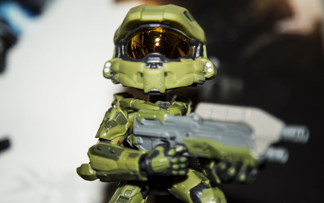 """Halo – Master Chief Looks Good as a 6"""" Vinyl Figure from JINX"""