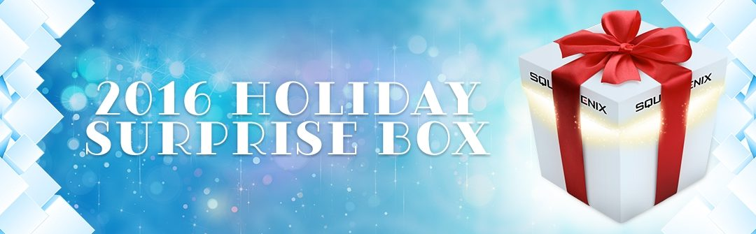 Square Enix's 2016 Holiday Surprise Box Offers 7 Games for $9.99