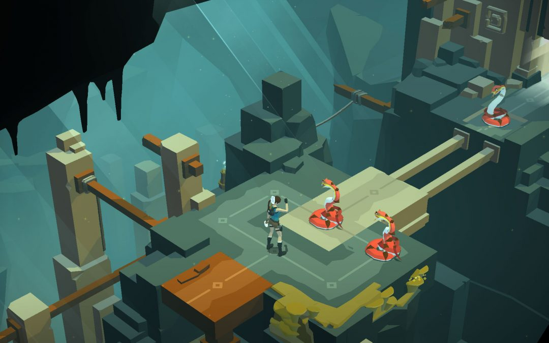 Lara Croft GO Releases for PlayStation 4, Vita