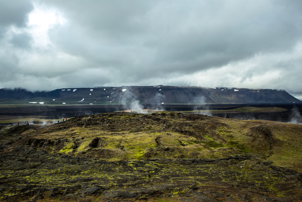 Rogue One Filming Locations - Krafla, Iceland