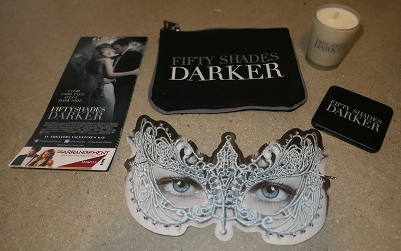 Fifty Shades Contest: Win Promo Swag!