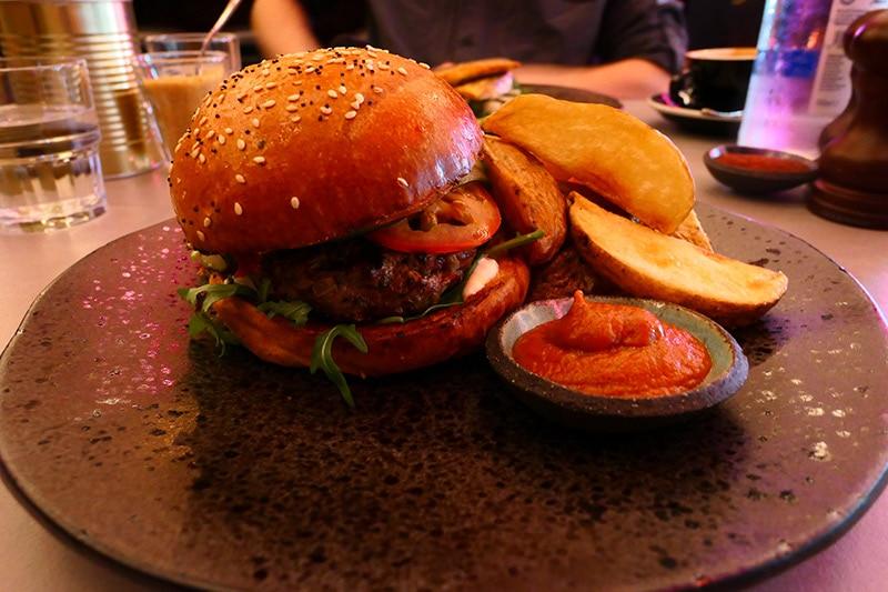 Firedogs Kofta Burger