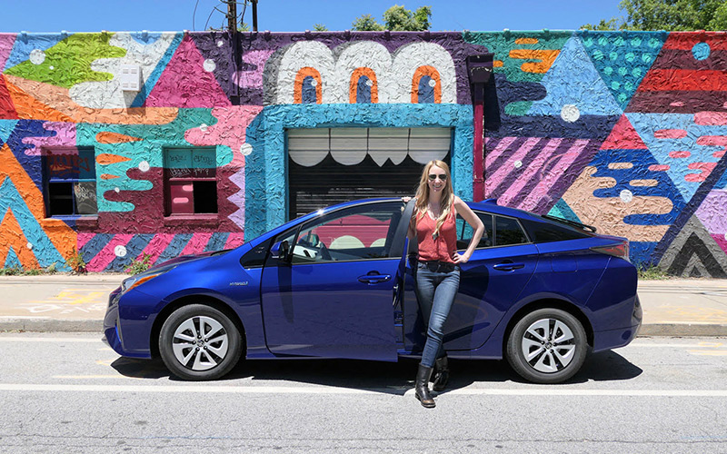 Geek Girl Review: 2017 Toyota Prius Three