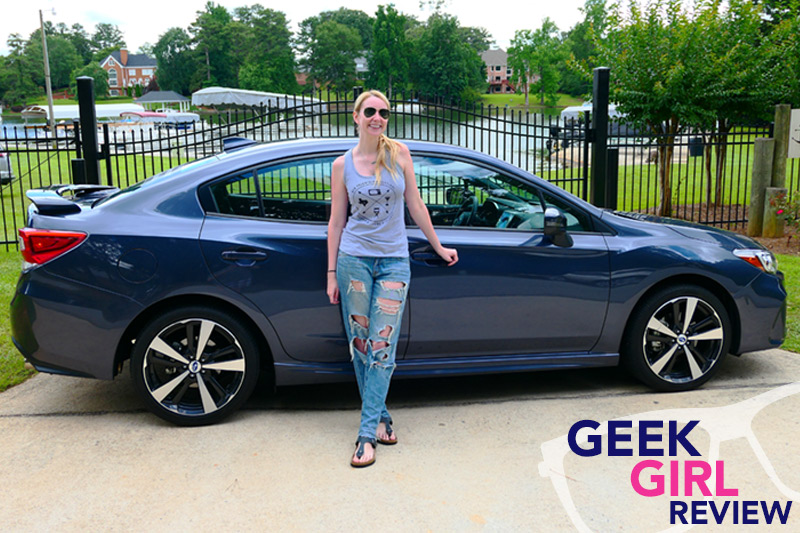 Geek Girl Review: 2017 Subaru Impreza 2.0i Sport
