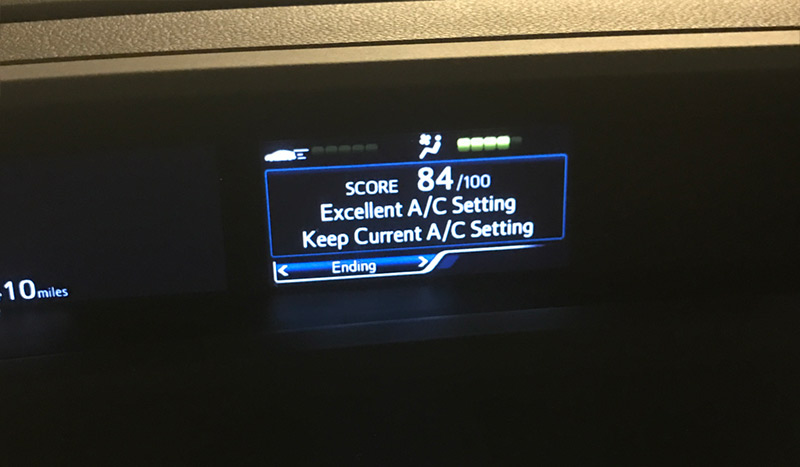 Geek Girl Review: 2017 Toyota Prius Prime Driving Score