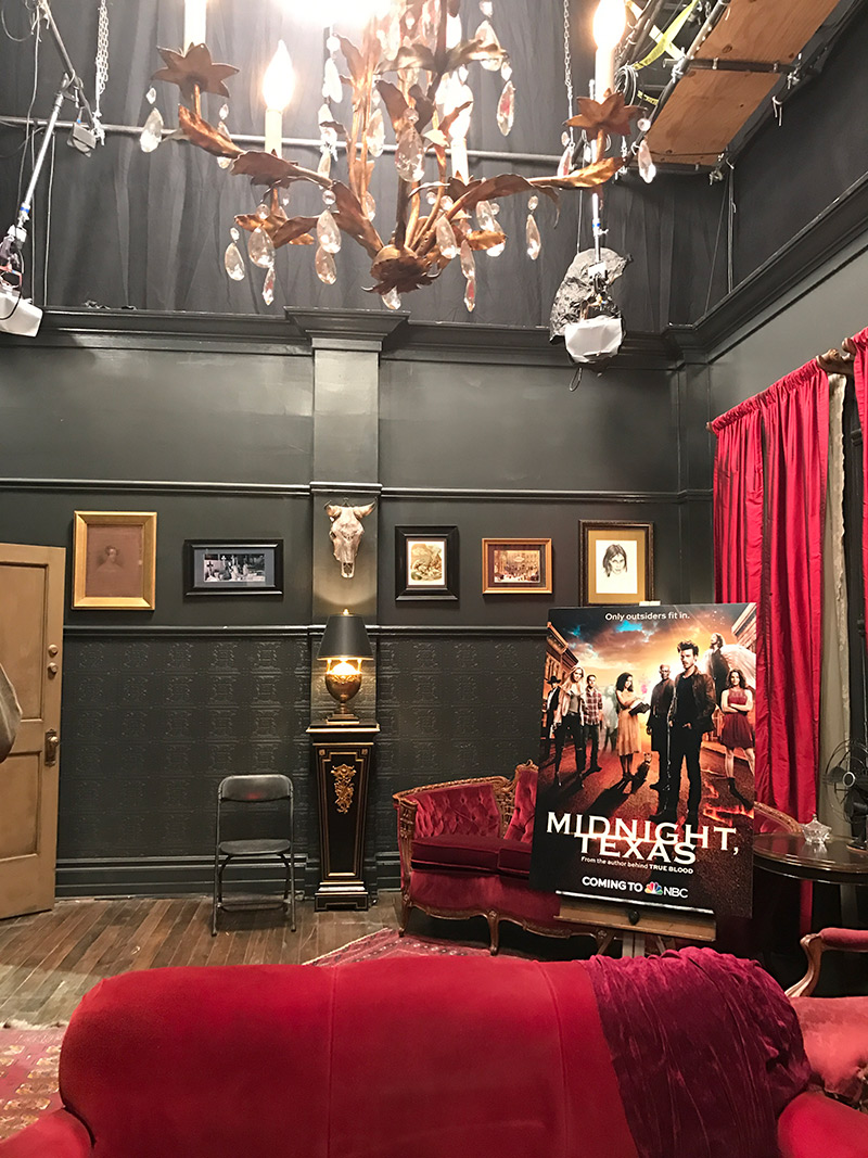 Midnight, Texas Set Visit Interviews